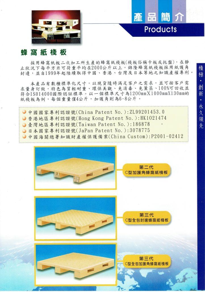 蜂窩紙棧板